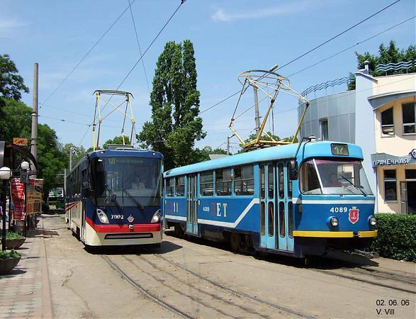 Сегодня, 1 февраля, в Одессе появился новый трамвайный маршрут, который связывает Куликово поле и Мемориал на 411...
