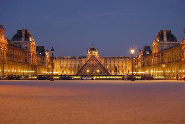 Le louvre paris palace museum listed building architectural heritage - Construction of the louvre ...
