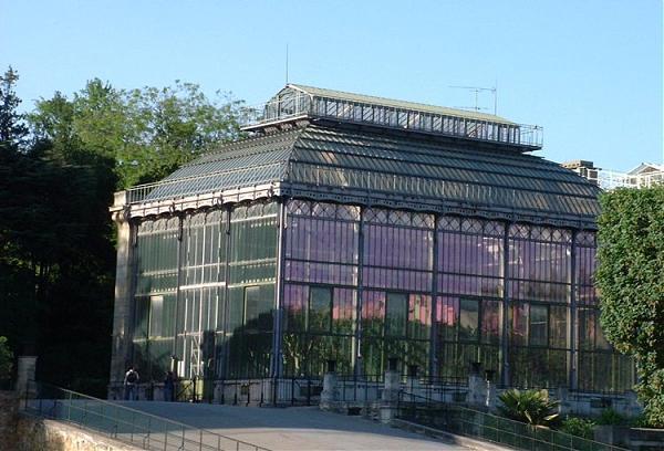 Die großen Gewächshäuser des Jardin des Plantes - Paris