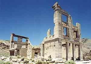 Rhyolite, Nevada | Real Time Pain Relief |Rhyolite Ghost Town