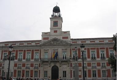 Real casa de correos madrid for Casa de correos madrid