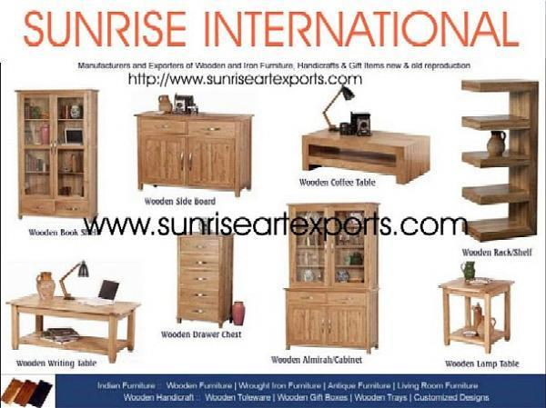 Sunrise International Indian Wooden Furniture Handicrafts. Wooden Furniture Manufacturers In India   Best Furiture 2017