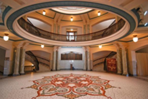 Carroll County Courthouse Delphi Indiana Rotunda
