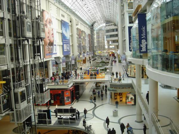 Find the best of fashion among stores & restaurants in Montreal Eaton shopping mall Save money & enjoy discounts in Montreal Eaton Centre stores.