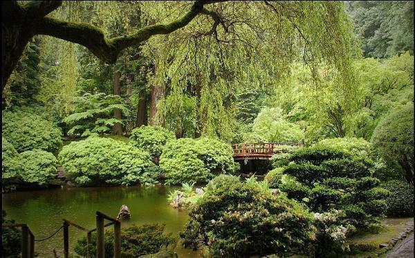 Portland Japanese Garden Portland Oregon