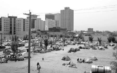 New Tent City & New Tent City - Edmonton Alberta