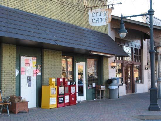 City cafe tuscaloosa alabama for Food bar tuscaloosa