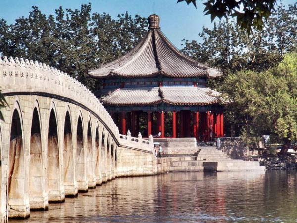 Resultado de imagem para ponte dos 17 arcos na china