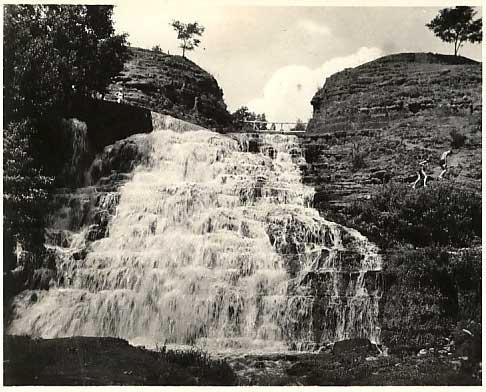 (червоногородський) водоспад