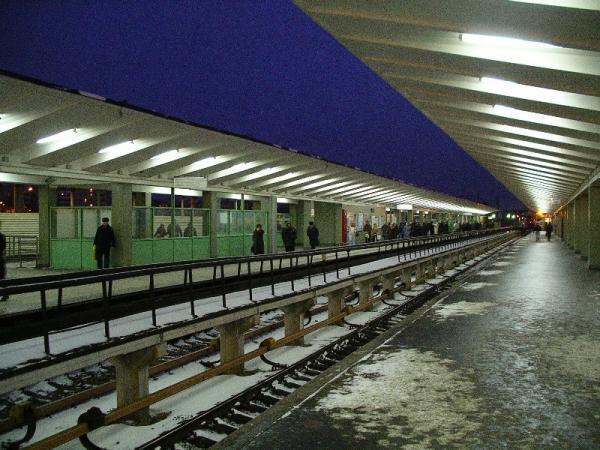 Станция метро и железнодорожная станция Выхино.  Как добраться.  Лайк.