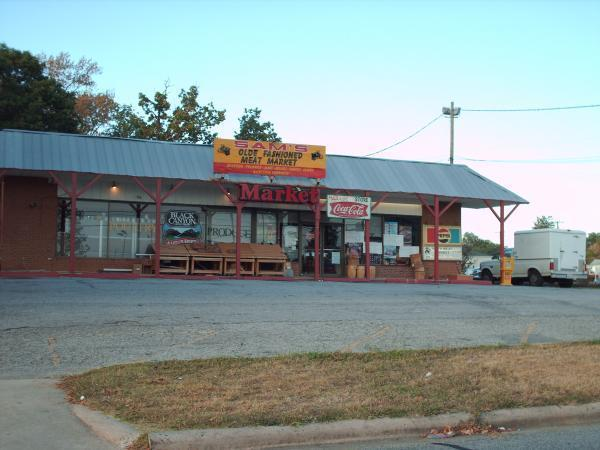 Sam 39 s olde fashioned meat market for Fish market greensboro nc