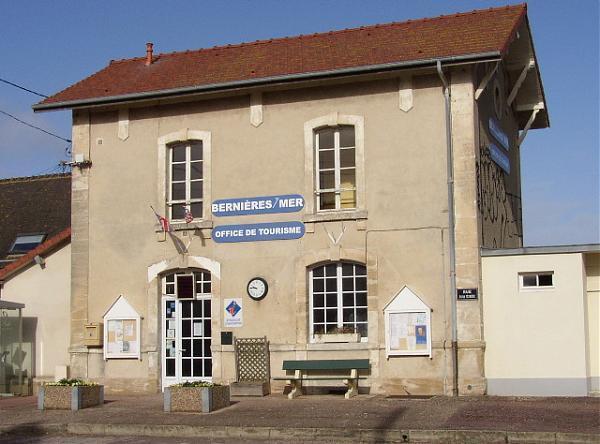 Ancienne gare de berni res sur mer actuel office du tourisme - Office de tourisme bernieres sur mer ...