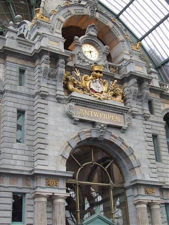 Antwerpen Centraal Railway Station Antwerp