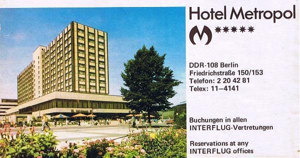 Berlin Metropol Hotel