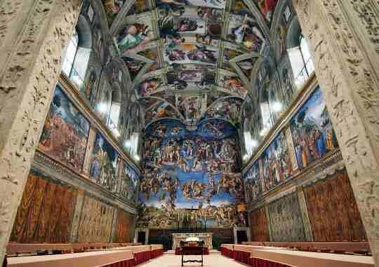 システィーナ礼拝堂の画像 p1_11
