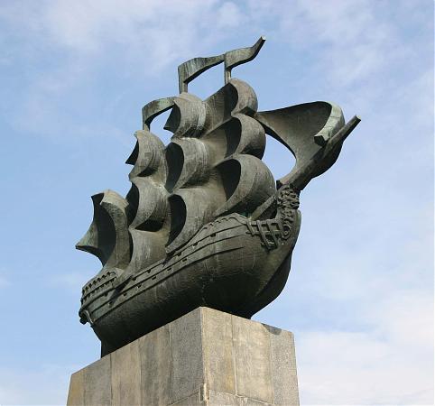 Пямятник первым корабелам