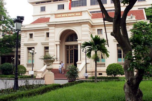 Image result for national library of vietnam, hanoi