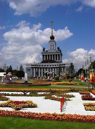 Exposición de los logros nacional de la URSS (actual centro Pan Ruso) 00_big