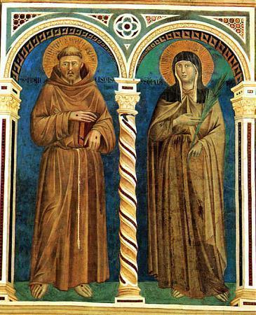 Basilica of St. Clare of Assisi (Santa Chiara) - Assisi, Italy