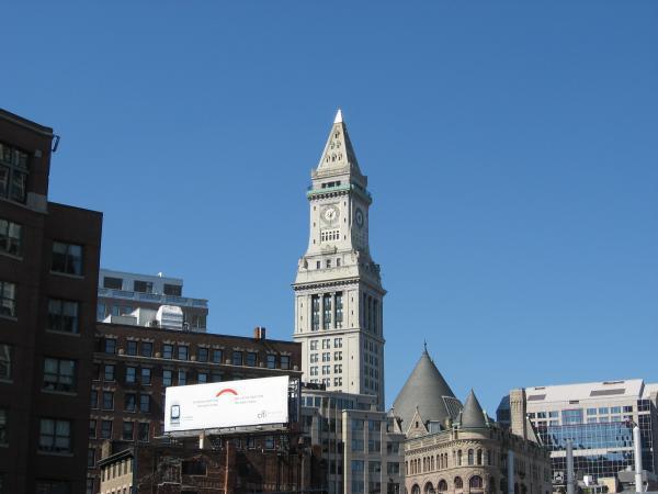 Custom House Tower Boston Massachusetts
