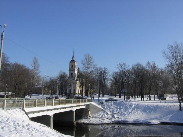 Ильинский мост санкт петербург