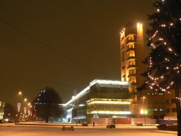 Кировский район на новый год