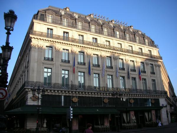 Intercontinental paris le grand hotel paris for Le grand hotel