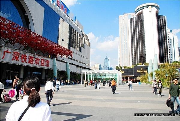 深圳火车站 (深圳市) | 火车站, 捷运/地铁站