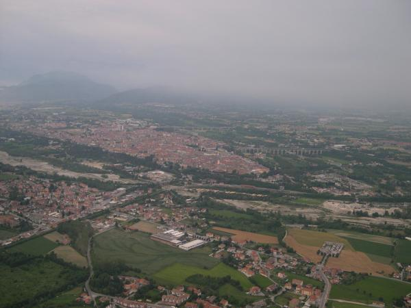 Cuneo in May