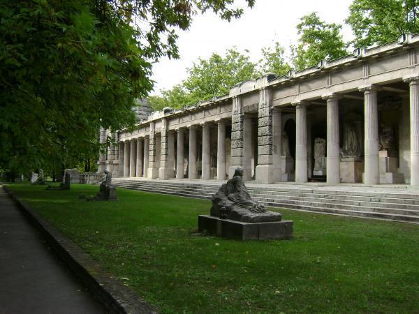 Kerepesi temető Árkádsora - Budapest