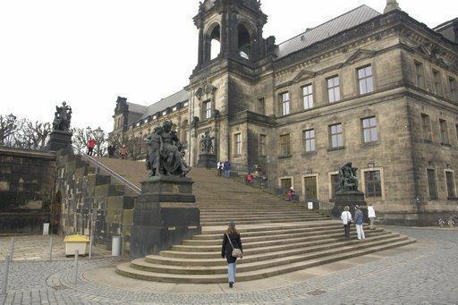 Freitreppe Der Bruhlschen Terrasse Dresden