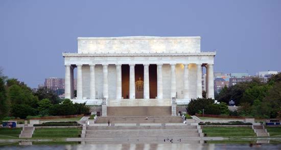 Kết quả hình ảnh cho Đài tưởng niệm Lincoln