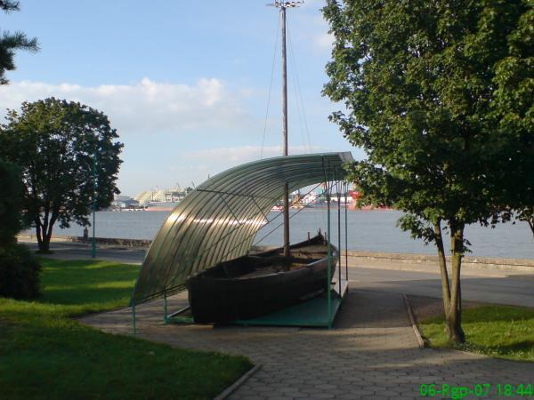памятник рыбаку в клайпеде