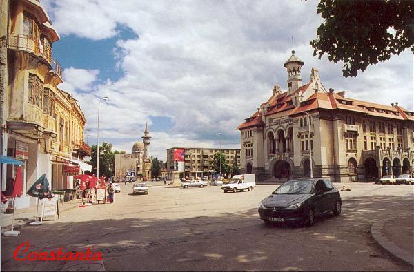 Ovidiu Square Constanţa Historic Town Square