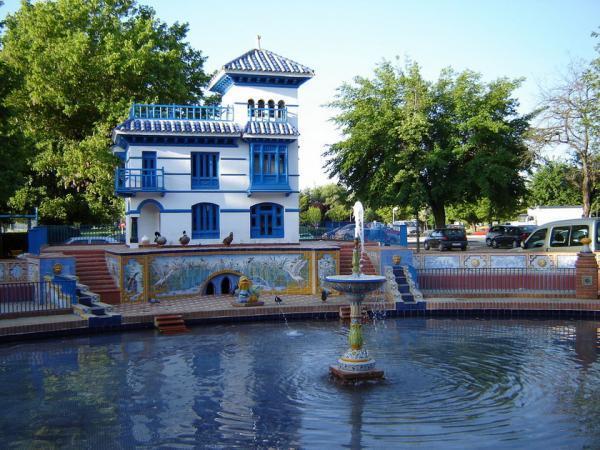 Casa y estanque de los patos talavera de la reina for Jardines del prado