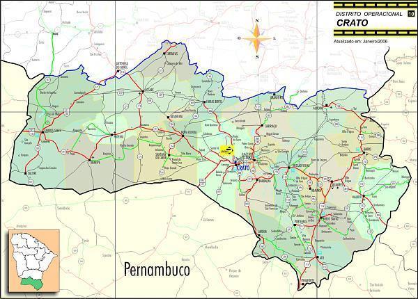 Crato City Photos Photos Of Crato City - Crato map
