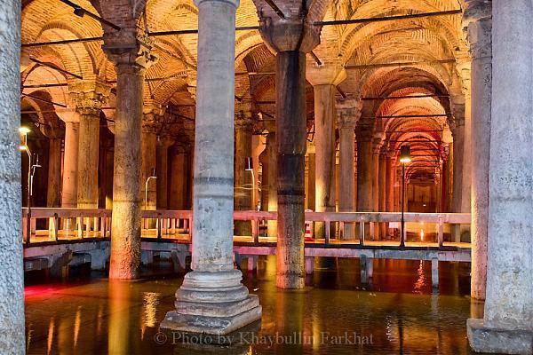 The Basilica Cistern (Yerebatan Sarnıcı) - Istanbul