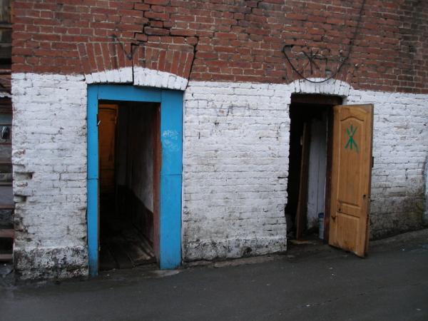 Древний общественный туалет МЖ - Владивосток