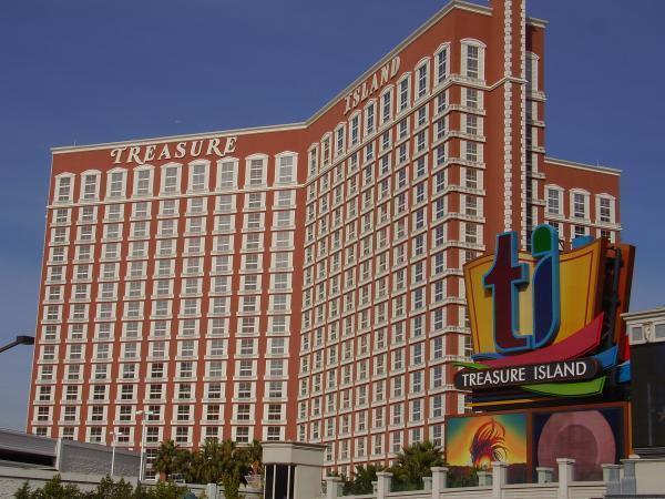 Island resort and casino hotel