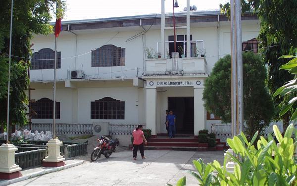 dulag municipal hall poblacion dulag town proper