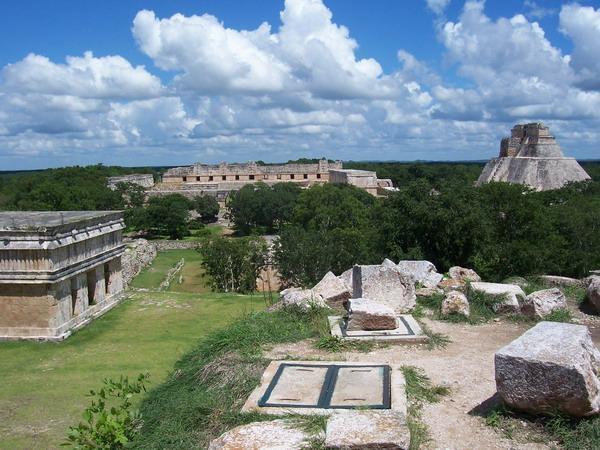 Uxmal Archaeological Zone
