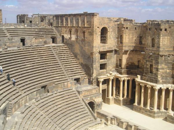 Ancient Roman Theater - Bosra al-Sham