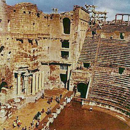 Ancient Roman Theater - Bosra al-Sham