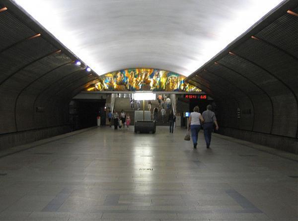 Сокольническая линия Московского Метрополитена.  Год открытия: 1990.  Транспорт - Станция метро.