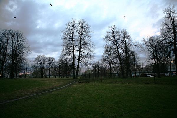 Небольшой парк около кладбища - ru.