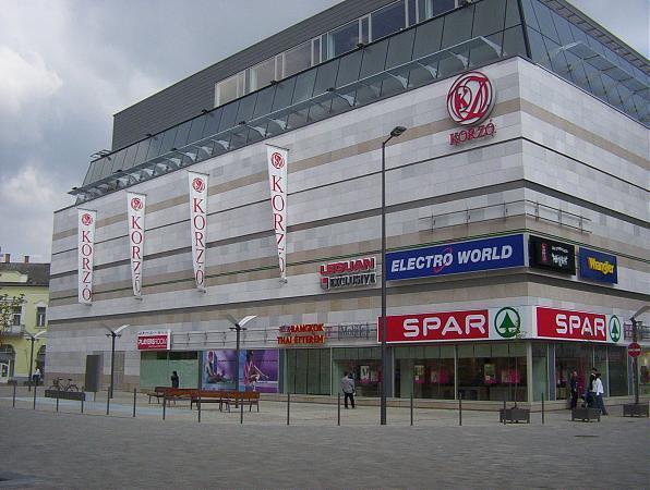 Korzo Mall - Nyíregyháza 8c2e4dbdc6