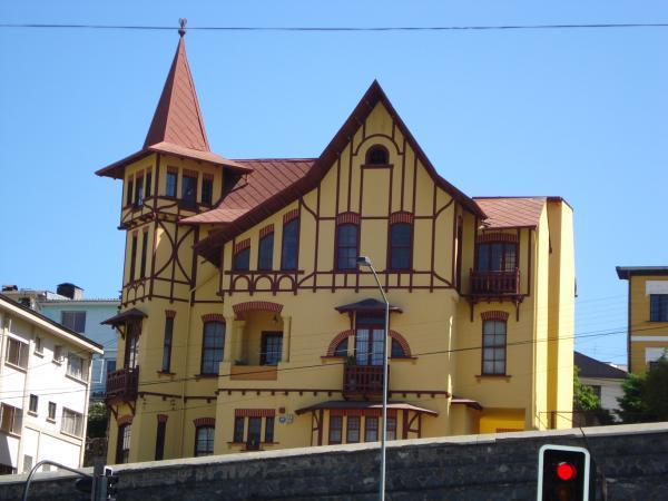 Entrada suroeste al cerro castillo vi a del mar chile for Hotel cerro castillo