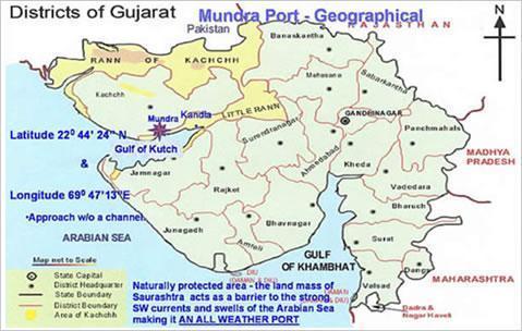 Map Of India And Pakistan Border.Sir Creek India Pakistan Border