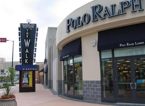 Polo Ralph Lauren (Former Bus Terminal Entrance) - Atlantic City, New Jersey