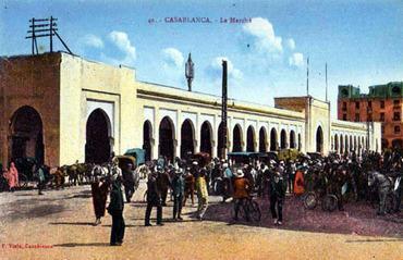 March central de l 39 architecte pierre bousquet 1917 for Architecte casablanca